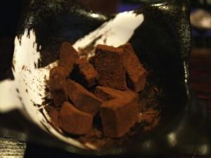 デビサバカフェ 味噌チョコ