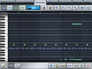 iPad用DAW「MusicStudio」