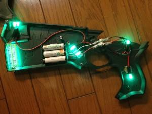 ドミネーター・LED点灯