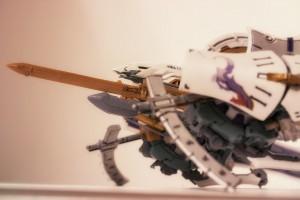 斑鳩プラモデルをマクロ撮影